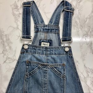 Gap relaxed fit denim overalls